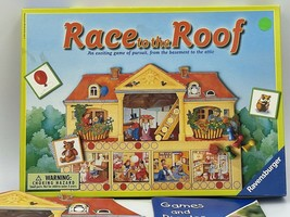 the race to the roof board game - $15.00