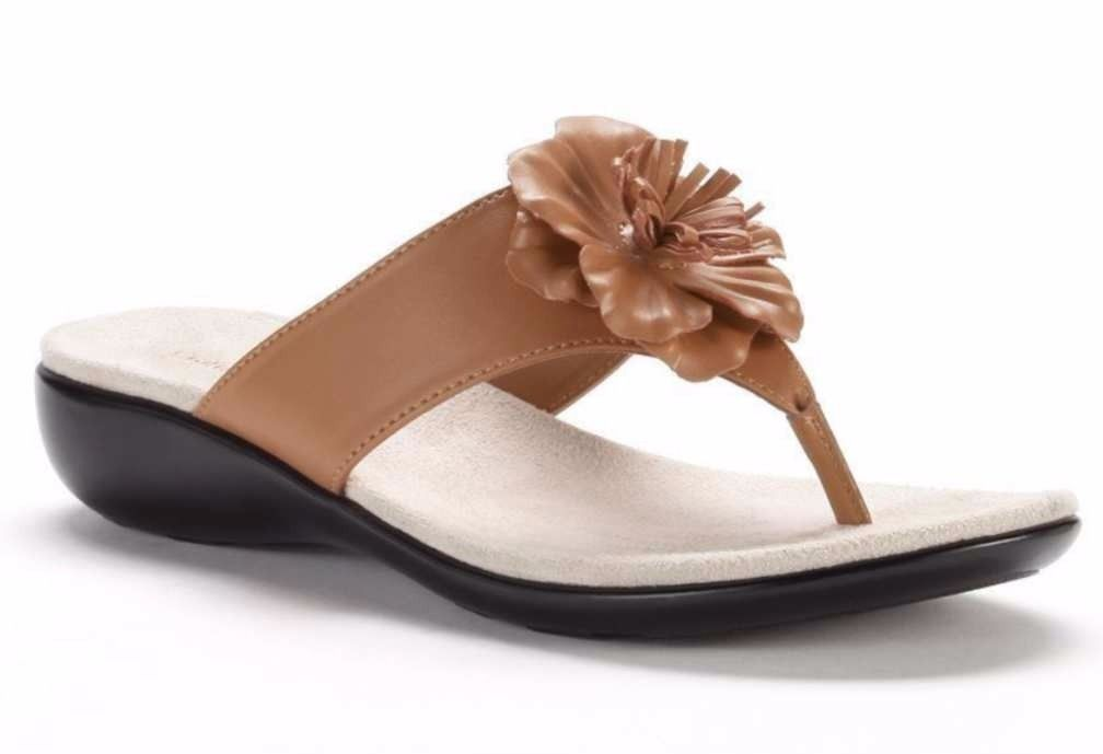 5c1bc9d85c24 Flower Power Sandal Ginny Tan Flip Flops and 50 similar items. S l1600