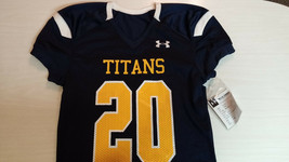 Mens Football Large Saber Jersey Titans #20 Under Armour Fall 2014 - $53.10