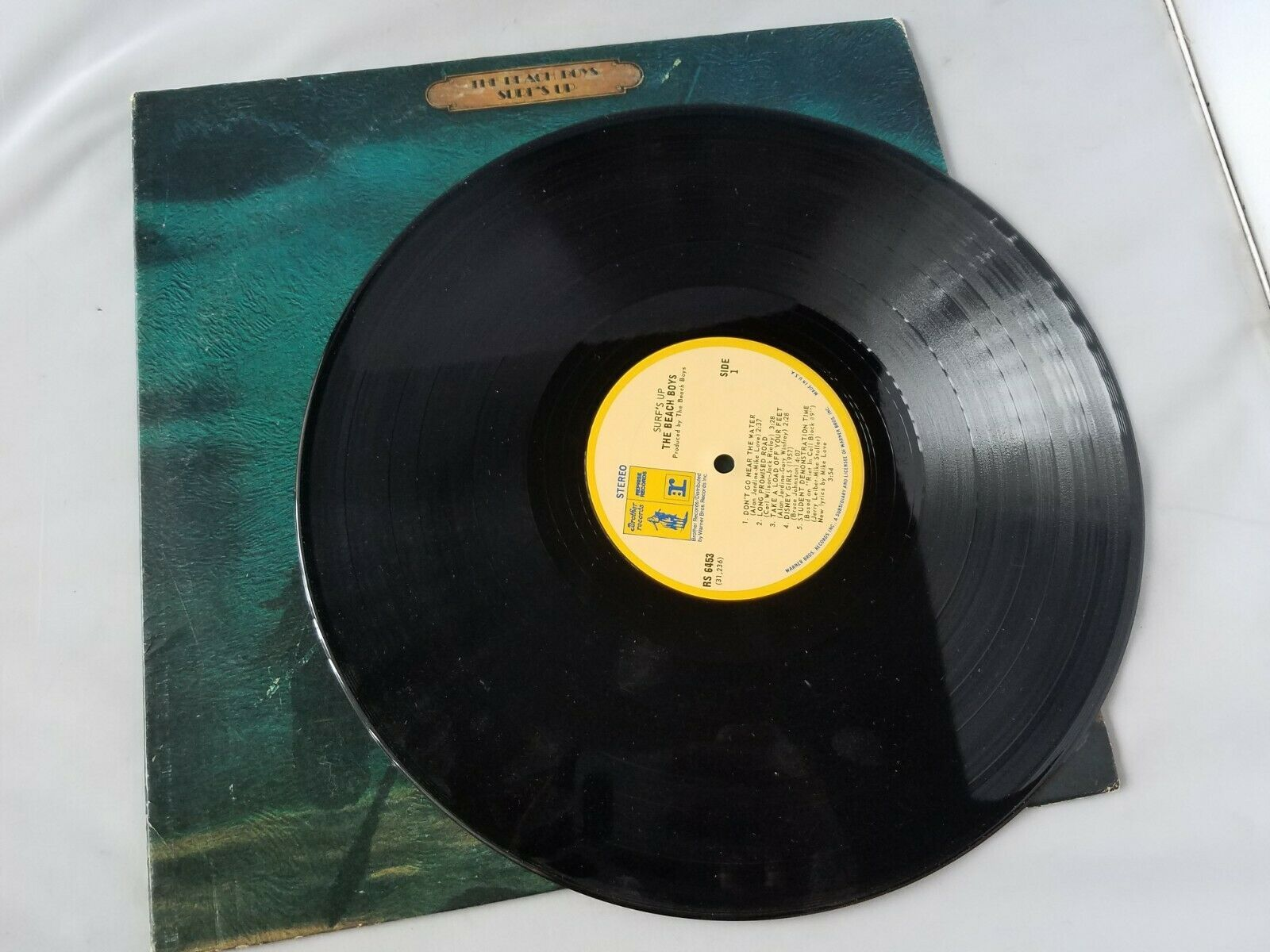 The Beach Boys Surf's Up Vinyl Record Vintage 1971 Brother Records