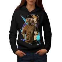Guitar Labrador Music Dog Sweatshirt Hoody Music Fan Women Hoodie - $21.99+
