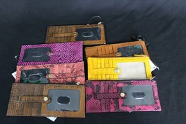 Brahmin Leather Credit Card Wallet. Pick your color. Inventory Updated Regularly - $55.00+
