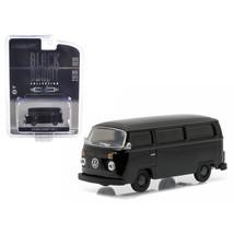 1978 Volkswagen Type 2 Bus Black Bandit 1/64 Diecast Model Car by Greenl... - $12.46