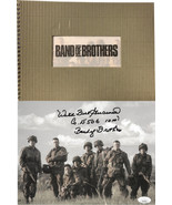 Wild Bill Guarnere signed WWII Band of Brothers 101st Airborne Easy Comp... - $136.95