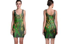 Bodycon Dress green ed sharen - $20.25+