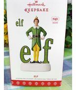 Hallmark Buddy The Elf ornament 2017 Magic sound - $69.75