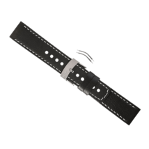 Genuine Suunto Elementum Terra Black Leather Watch Band  Strap Kit SS014826000 - $59.95