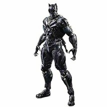*MARVEL UNIVERSE VARIANT PLAY ARTS Kai Black Panther PVC painted action ... - $335.67