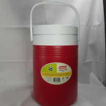 Coleman Red 1 Gallon 3.6L with Flip Top Spout Insulated Jug Thermos With Handle - $9.46