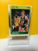 1988 Fleer Larry Bird #9 Basketball Card - $8.12