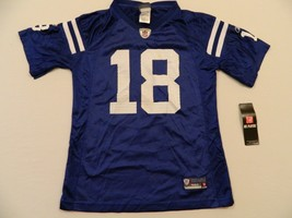 M25 New Reebok Indianapolis Colts Peyton Manning On Field Jersey Youth L (14) - $19.75