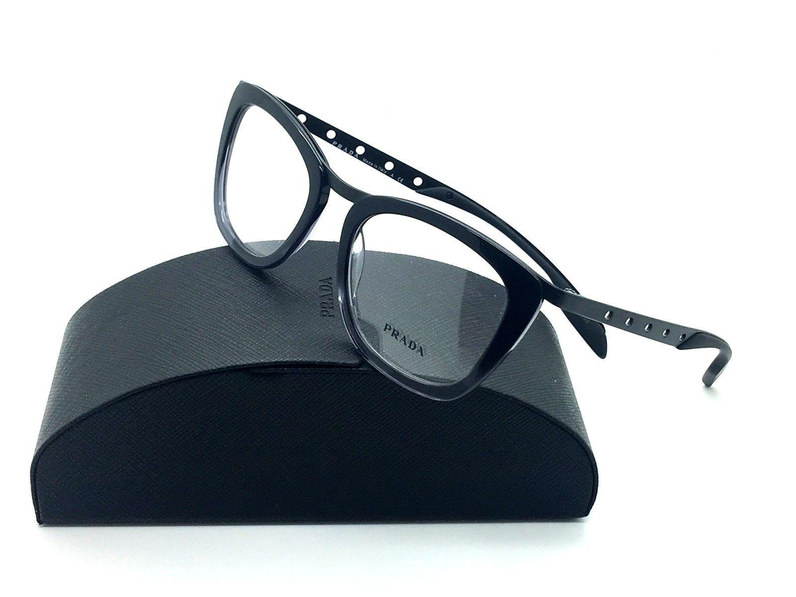 4c70493b4b Prada Gray Eyeglasses VPR 60R TV7 1O1 51 mm and 50 similar items