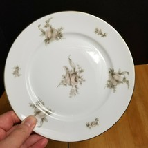 Rosenthal Continental Colonial Rose China Salad Plate Pink Beige Roses 1... - $4.94