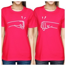 Fists Pound BFF Matching Hot Pink Shirts - $30.99+
