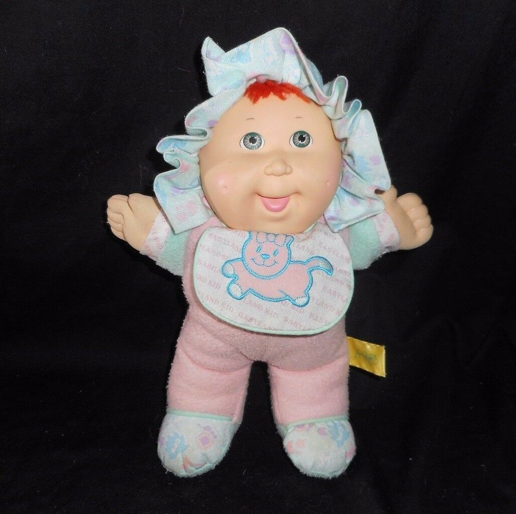 Primary image for VINTAGE 1988 CABBAGE PATCH KIDS BABYLAND GIRL RED HAIR STUFFED ANIMAL PLUSH DOLL