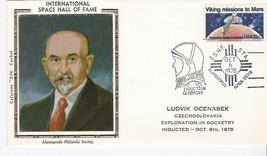 LUDVIK OCENASEK SPACE HALL OF FAME ALAMOGORDO NM OCT 6 1978 COLORANO SILK  - $2.98