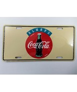"Coca-Cola ""Always"" License Plate - BRAND NEW - $7.43"