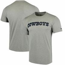 Dallas Cowboys Nike Legend Wordmark Essential  Dri Fit Gray Tee Adult XL - $22.76