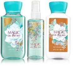 Bath & Body Works Magic In The Air Set | Shower Gel, Body Lotion & Fragr... - $31.31