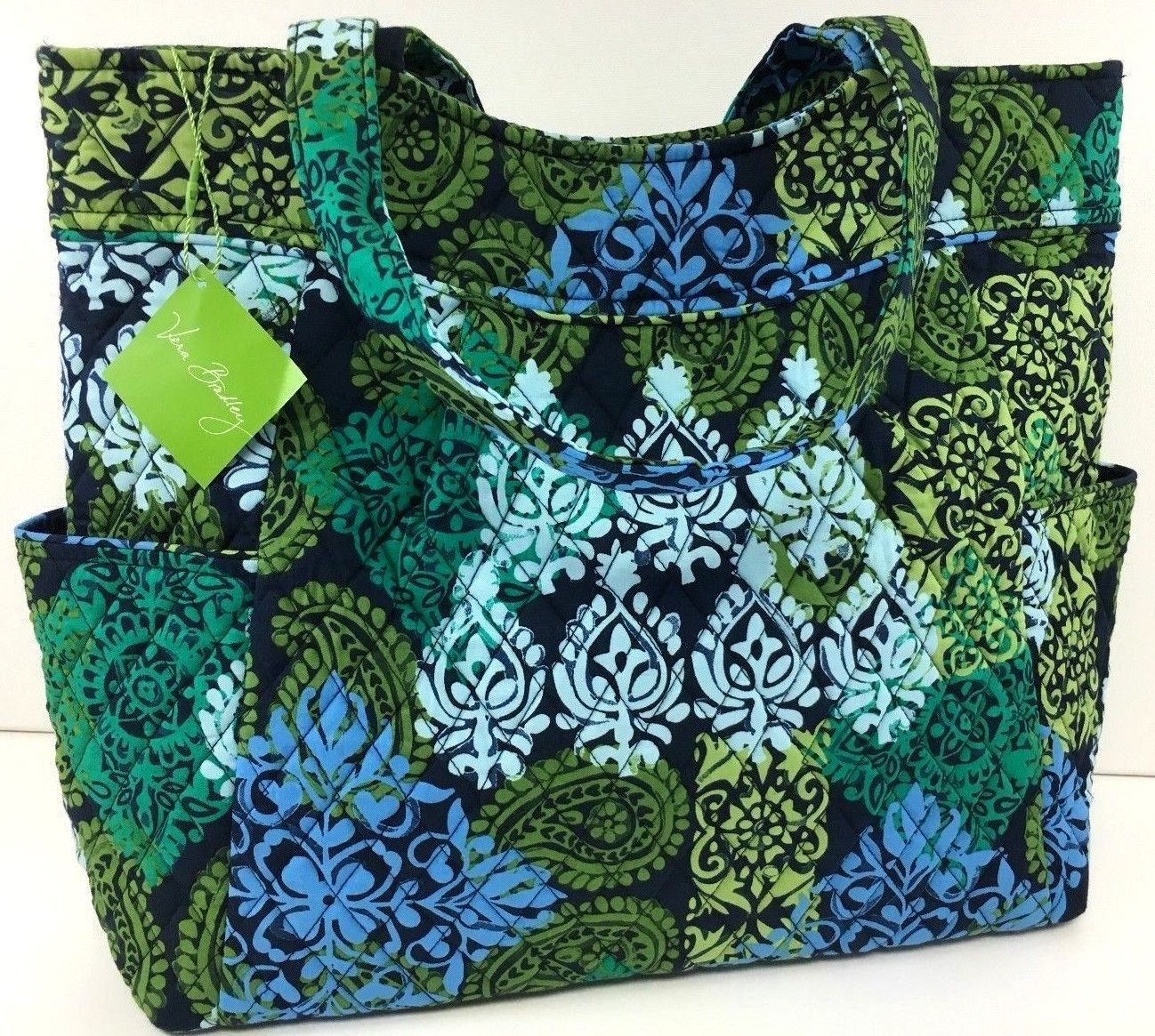 7a7701814333 Vera Bradley Factory Style Pleated Tote and 50 similar items