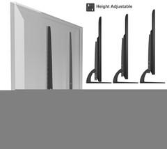 Universal Table Top TV Stand Legs for Toshiba 46RV530U Height Adjustable - $43.49
