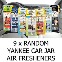 Yankee Candle AMAZING VALUE PACK 9 x Assorted Car Jar Air Hanging Air - $44.63