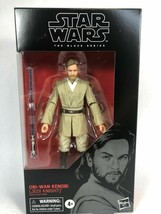 Star Wars The Black Series Obi Wan Kenobi Jedi Knight Action Figure 6-In... - $34.95