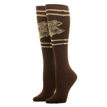 Harry Potter Movie Hogwarts Trunk Adult Knee High Socks - $12.99