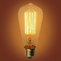"Urbanest Squirrel Cage Type Vintage Edison Bulb, 40 Watt, E26 Base, 5-1/8"" L - $6.92+"
