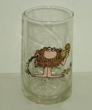 GROG - Arby's B.C. Ice Age Collector Series Glass Tumbler - Johnny Hart - $22.75