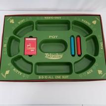 Tripoley Board Game Special Edition No 300 Cadaco No Original Cards Vtg 1968 - $34.65
