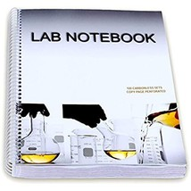 BARBAKAM Lab Notebook 100 Carbonless Pages Spiral Bound (Copy Page Perfo... - $38.95