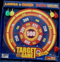 Lights and Sounds Target Game - Safe Dart Tips - MISSING ONE GREEN DART - $16.82