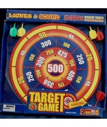 Lights and Sounds Target Game - Safe Dart Tips - MISSING ONE GREEN DART - $16.82