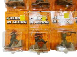 Lot (12) NOS Vintage 1974 Mattel Heroes in Action Card Figure Sealed Package image 5