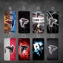 Atlanta Falcons iphone 7 wallet flip case iphone 6 6plus 5 7 X XR XS MAX case - $17.99