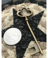 Secret Wealth Magic Vintage Skeleton Key Become Wealthy Or Your Money Ba... - $118.80