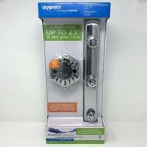 Oxygenics BodyBar w/ PowerSelect Chrome 3 Spray Jet Shower Head Bar Syst... - $54.68