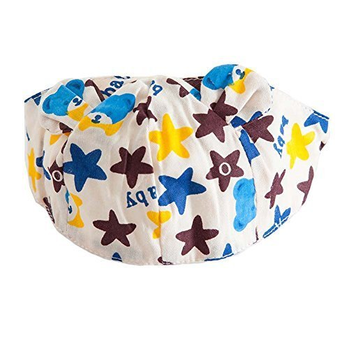 Baby Hat Scarf Breathable Sun-resistant Comfy Beach Cap Empty Top Hat Summer