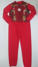 Marvel Iron Man Child Jumpsuit Costume No Mask - Size L (10-12) - NEW - $7.99