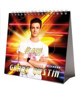 Grant Gustin Desktop Calendar 2020 NEW + FREE GIFT 3 Stickers Sexy Hot T... - $9.99