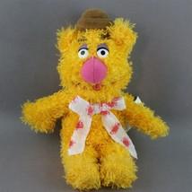 Fozzie Bear Plush Bean Bag Doll Muppets Sababa Toy 8 inch - $12.99