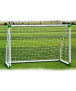 6' x 4' Soccer Goal Training Set with Net Buckles Ground Nail Football S... - $98.99