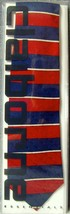 Vintage•1996•New•Sealed•Claiborne•100% Silk•Mens•Red & Blue Striped Tie•USA Made - $31.49