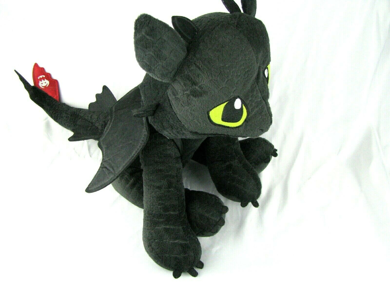 "Primary image for Dreamworks Dragons ""Toothless"" How To Train Your Dragon Plush Stuffed 13"""