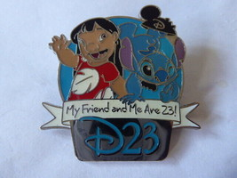 Disney Trading Pins 84083 D23 'Refer-A-Friend' Set - Lilo and Stitch - $32.42