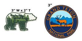 Wander Often Wander Always and Grand Teton National Park Series 2-Pack Embroider - $7.89