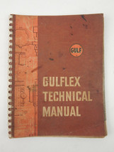 VINTAGE GULF 1959 GULFLEX TECHNICAL MANUAL COMPLETE - $15.48