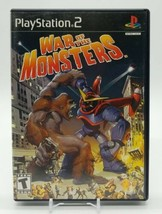 War of the Monsters (Sony PlayStation 2 PS2 2003) Complete in Box with N... - $44.43