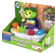 LeapFrog Count and Colours Music Band Kids Birthday Gift Christmas Gift for kids - $25.08